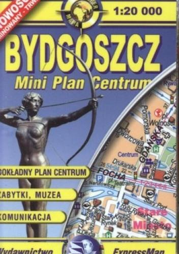 Okładka książki Bydgoszcz Mini Plan Centrum