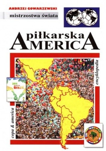 Okładka książki Piłkarska America: Encyklopedia piłkarska FUJI (tom 46)
