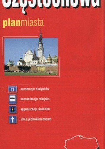 Okładka książki Częstochowa. Plan miasta. 1:22 000 ExpressMap