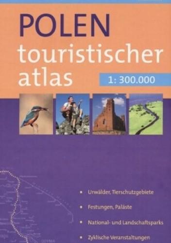 Okładka książki Turystyczny atlas Polski (wersja niemiecka)