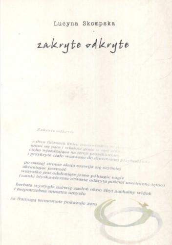 Okładka książki Zakryte odkryte