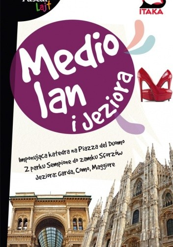 Okładka książki Mediolan i Jeziora. Przewodnik Pascal Lajt