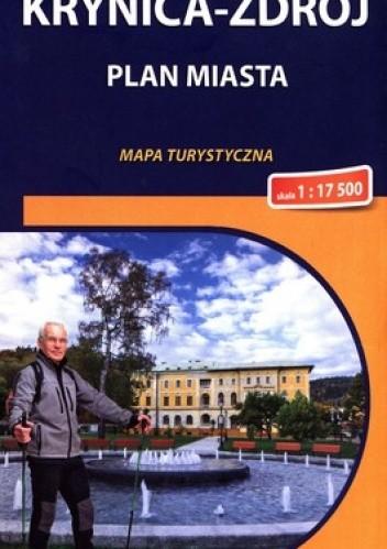 Okładka książki Krynica Zdrój. Plan miasta. Mapa turystyczna. 1 : 17 500. Compass
