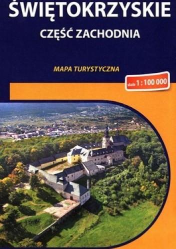 Okładka książki Świętokrzyskie część zachodnia. Mapa turystyczna. 1 : 100 000. Compass