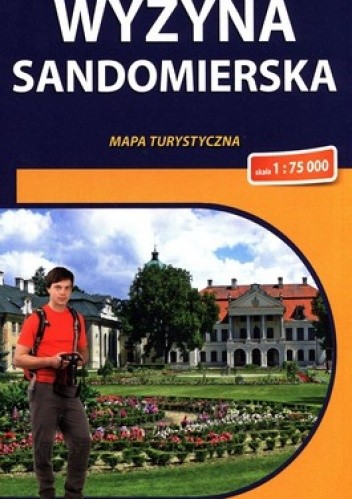 Okładka książki Wyżyna Sandomierska. Mapa turystyczna. 1 : 75 000. Compass