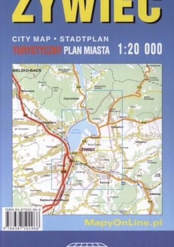 Okładka książki Żywiec. Plan miasta, 1:20000, Witański