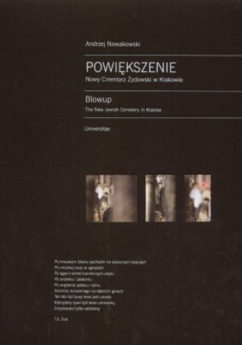 Okładka książki Powiększenie: Nowy Cmentarz Żydowski