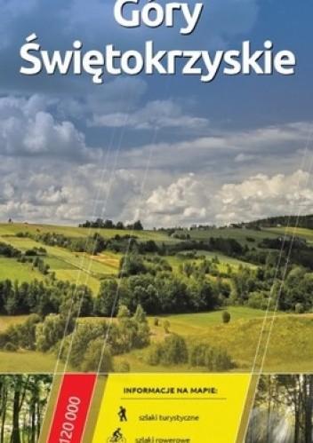 Okładka książki Góry Świętokrzyskie. Mapa turystyczna. 1 : 120 000. Europilot