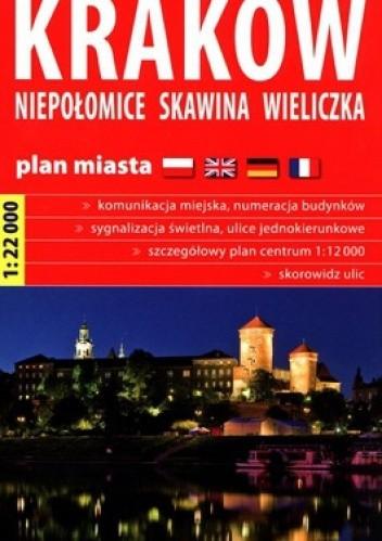 Okładka książki Kraków. Niepołomice. Skawina. Wieliczka. Plan Miasta.1:22 000. Ekspress Map