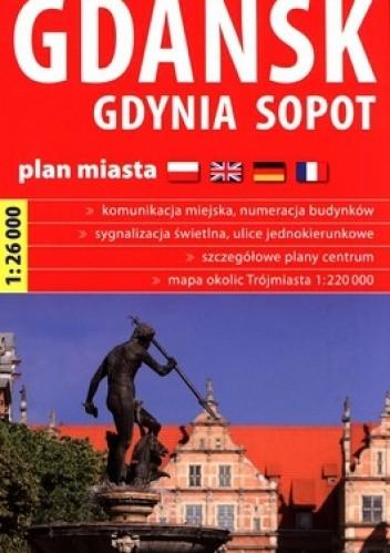 Okładka książki Gdańsk, Gdynia, Sopot. Plan miasta. 1: 26 000. Express Map