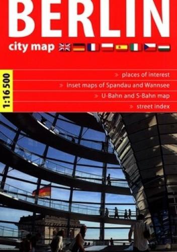 Okładka książki Berlin. City map. 1: 16 500. Express Map