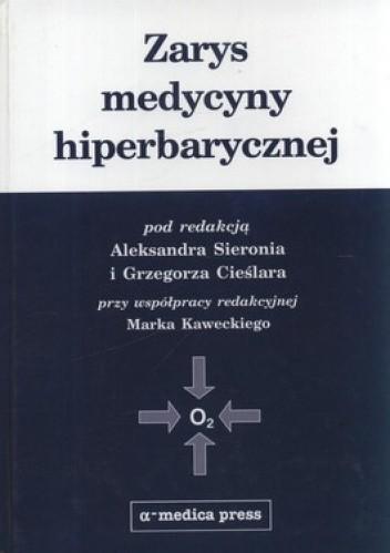 Okładka książki Zarys medycyny hiperbarycznej