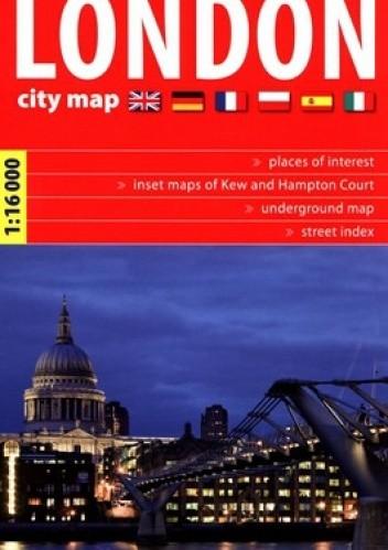 Okładka książki London. 1:16 000. City map. Express Map