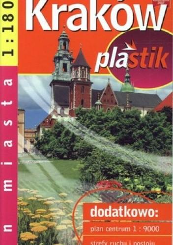 Okładka książki Kraków mapa samochodowa. Laminowana 1:18 000 Demart