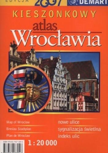 Okładka książki Kieszonkowy atlas Wrocławia