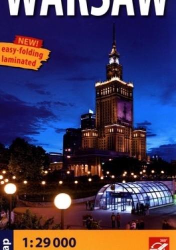 Okładka książki Warsaw. City street map. 1: 29 000. Ekspress Map
