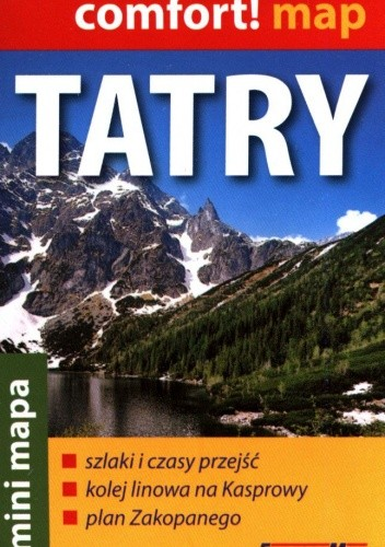 Okładka książki Tatry. Zakopane. Mini mapa. Ekspress Map