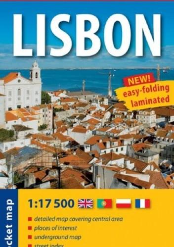 Okładka książki Lisbon. Laminowana mapa kieszonkowa. 1:17 500. ExpressMap