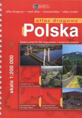 Okładka książki Polska atlas drogowy. 1:200 000 Daunpol