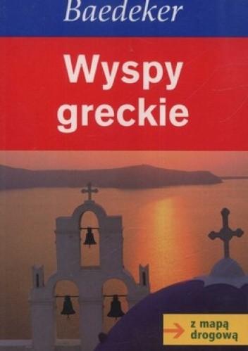 Okładka książki Wyspy Greckie. Przewodnik + mapa drogowa