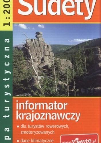Okładka książki Sudety. Mapa turystyczna 1:200 000 Demart