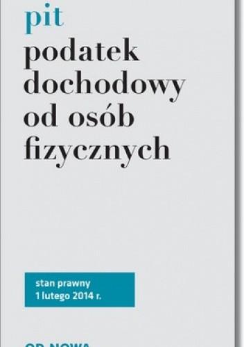 Okładka książki Podatek dochodowy od osób fizycznych