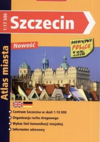 Okładka książki Szczecin. Plan miasta 1:17500