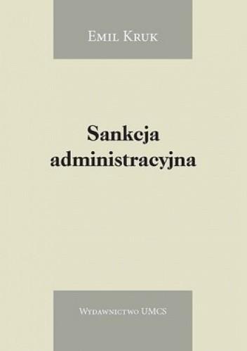 Okładka książki Sankcja administracyjna