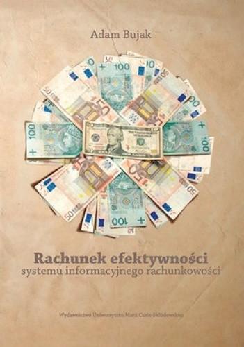 Okładka książki Rachunek efektywności systemu informacyjnego rachunkowości