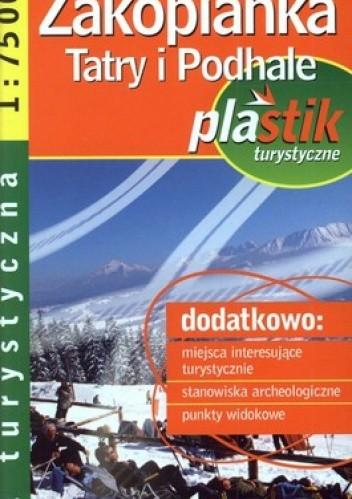 Okładka książki Zakopianka Tatry i Podhale mapa turystyczna. Laminowana 1:75 000 Demart