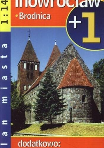 Okładka książki Inowrocław. Brodnica. Plan miasta. 1:14000, Demart