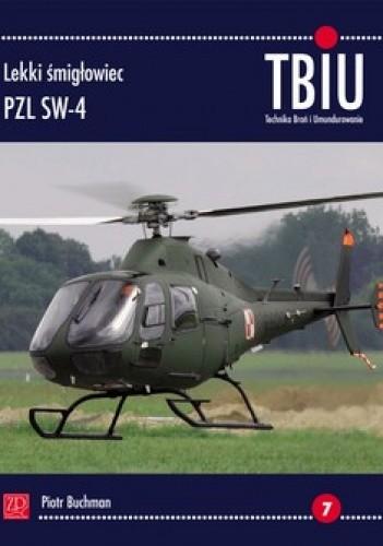 Okładka książki TBiU 2/2013. Lekki śmigłowiec PZL SW-4