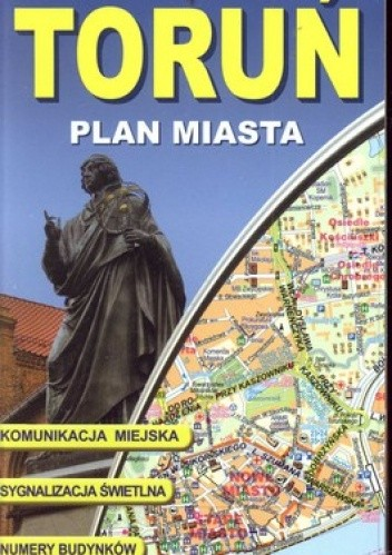 Okładka książki Toruń. Plan miasta. Laminowany. 1:20000 ExpressMap