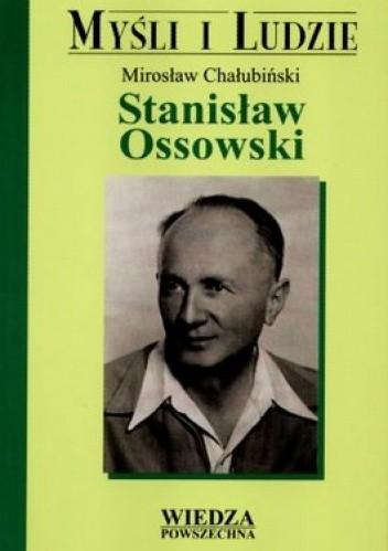 Okładka książki Stanisław Ossowski.