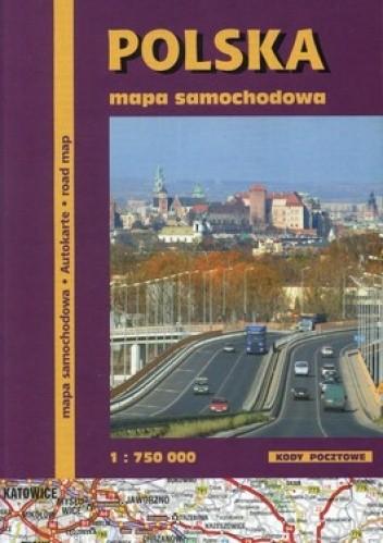 Okładka książki Polska. Mapa samochodowa 1:750 000