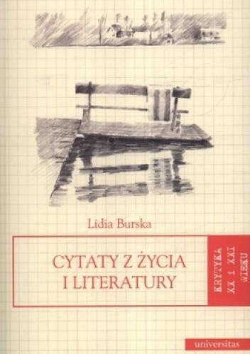 Okładka książki Cytaty z życia i literatury