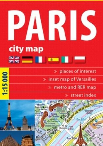 Okładka książki Paryż. Plan miasta. 1:15 000 ExpressMap