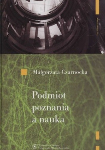 Okładka książki Podmiot poznania a nauka
