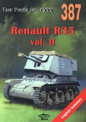 Okładka książki Renault R35 vol.II. Tank Power vol. CXXX.
