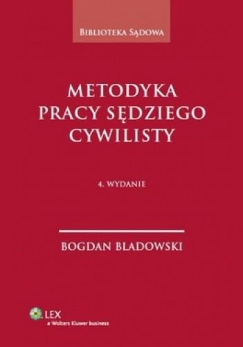 Okładka książki Metodyka pracy sędziego cywilisty