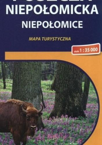 Okładka książki Puszcza Niepołomicka, Niepołomice. Mapa turystyczna. 1:35 000 Compass