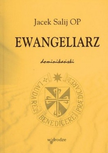 Okładka książki Ewangeliarz dominikański
