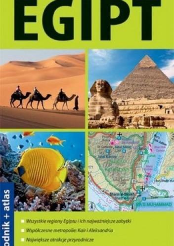 Okładka książki Egipt 2w1. Przewodnik + atlas. Explore! guide