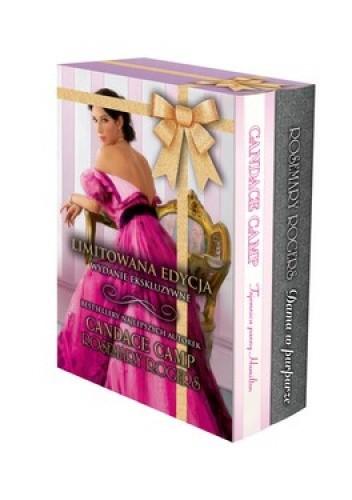 Okładka książki Dama w purpurze + Tajemnica panny Hamilton (komplet)