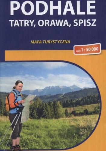 Okładka książki Podhale. Tatry, Orawa, Spisz. Mapa turystyczna. 1:50 000 Compass