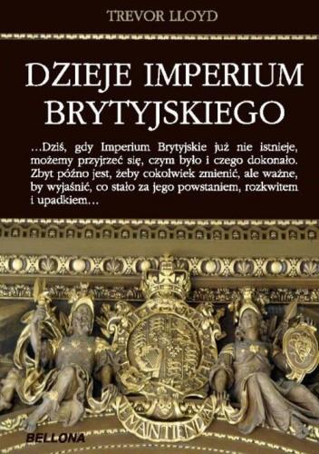 Okładka książki Dzieje imperium brytyjskiego
