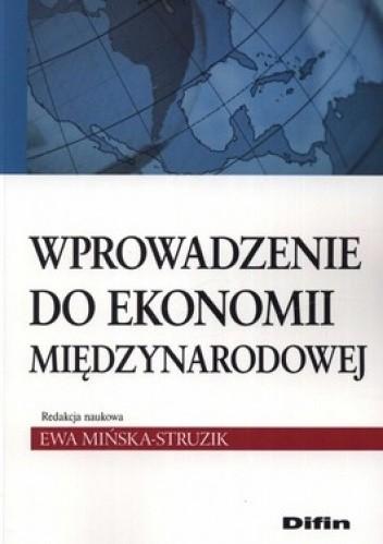 Okładka książki Wprowadzenie do ekonomii międzynarodowej
