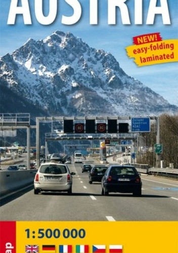 Okładka książki Austria. Mapa samochodowa. 1:500 000 ExpressMap