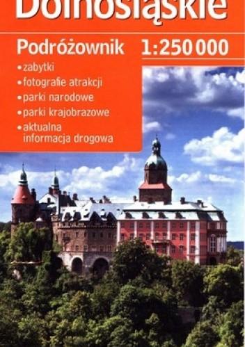 Okładka książki Dolnośląskie. Turystyczna mapa samochodowa wojwództwa. 1:250 000. Demart