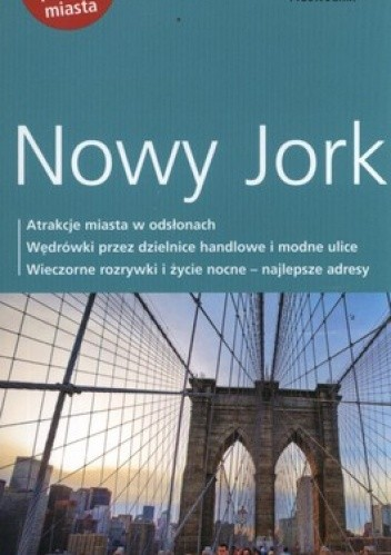Okładka książki Nowy Jork. Przewodnik Dumont + mapa